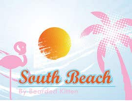 #9 for Bearded Kitten: South Beach af Rainbowart2015