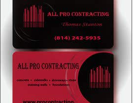#24 for Design some Business Cards for All Pro Contracting af grma64