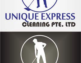 #17 untuk Design a Logo for UNIQUE EXPRESS CLEANING PTE. LTD., oleh wahyuguntara5