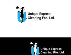 #3 untuk Design a Logo for UNIQUE EXPRESS CLEANING PTE. LTD., oleh robertlopezjr