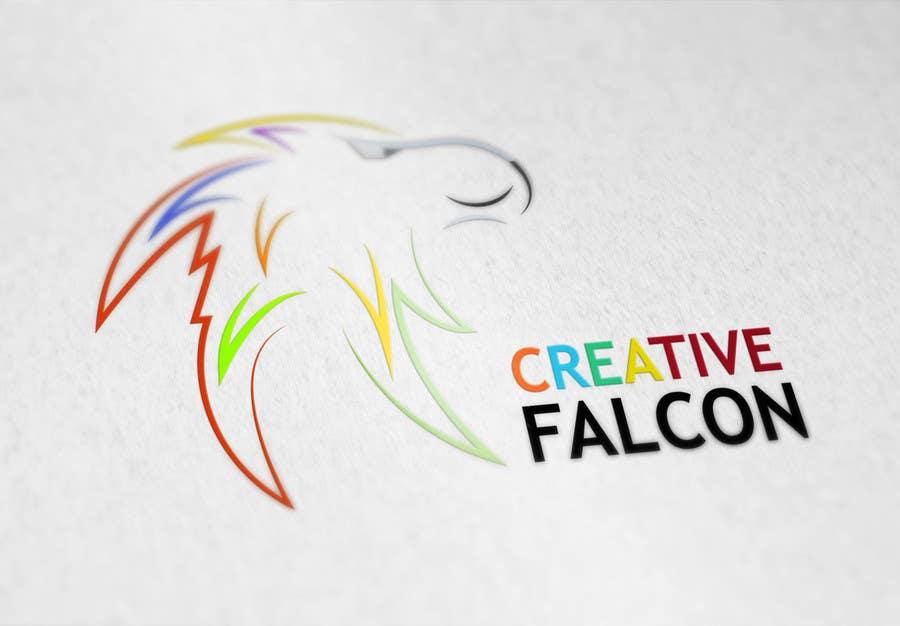 Proposition n°                                        66                                      du concours                                         Design a Logo for Creative Falcon