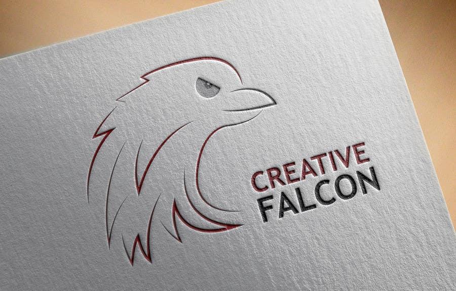 Proposition n°                                        74                                      du concours                                         Design a Logo for Creative Falcon