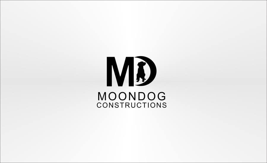 Inscrição nº 90 do Concurso para Design a Logo for MOONDOG CONSTRUCTIONS