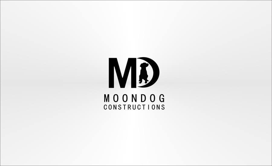 Inscrição nº 91 do Concurso para Design a Logo for MOONDOG CONSTRUCTIONS