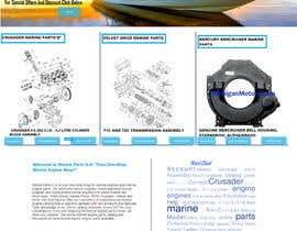 #14 for Design a Website Mockup for Marine Parts U.S. af yuvi9616085436