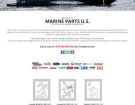 #11 for Design a Website Mockup for Marine Parts U.S. af Psynsation