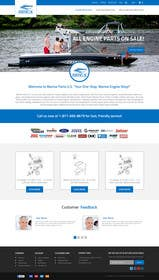 #12 for Design a Website Mockup for Marine Parts U.S. af ankisethiya