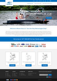#13 for Design a Website Mockup for Marine Parts U.S. af ankisethiya