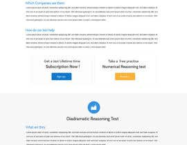 #36 for Design a Website Mockup for Practice IQ Test Business af SadunKodagoda