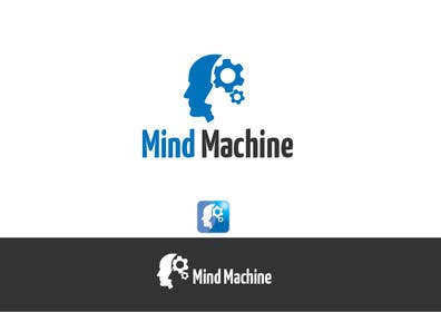 #63 para Logo Design for Mind Machine por paxslg