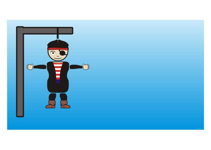 Penyertaan Peraduan #4 untuk I need some Graphic Design for a Hangman Game I am developing