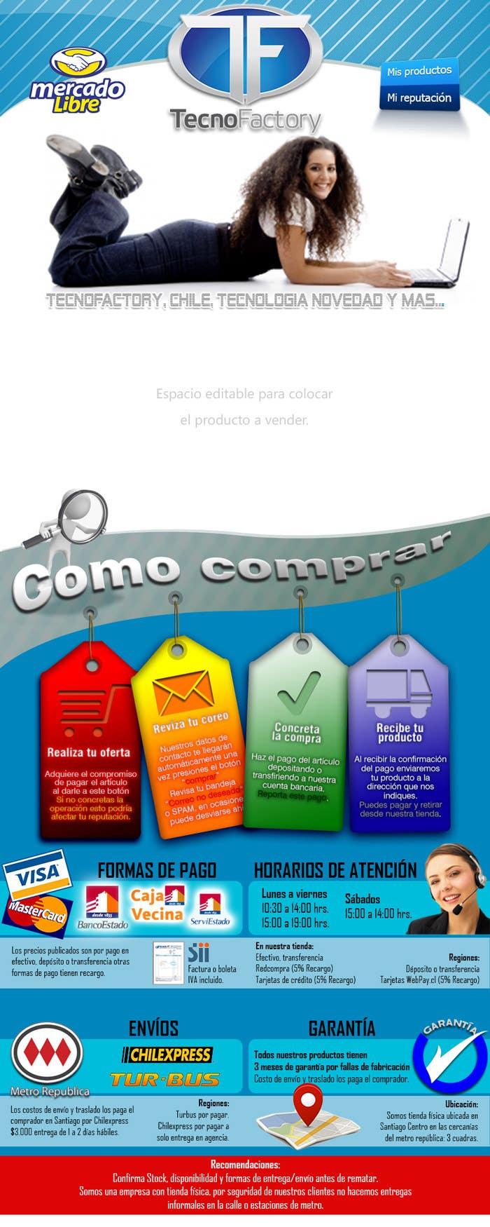 Contest Entry #                                        4                                      for                                         Rediseño Plantilla Mercadolibre Htm