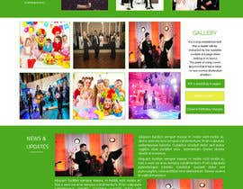 #11 para Design a Website Mockup for Entertainment Industry por ravinderss2014