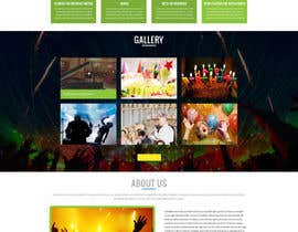#1 for Design a Website Mockup for Entertainment Industry af prodesign842