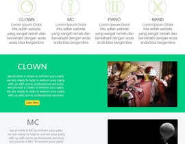 #22 para Design a Website Mockup for Entertainment Industry por RikoSaptoDimo