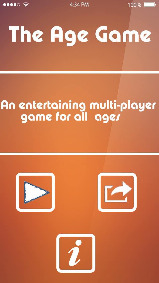 Konkurrenceindlæg #                                        2                                      for                                         Design an App Mockup for Age Game