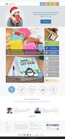 Nro 9 kilpailuun Design a Homepage Mockup käyttäjältä ankisethiya