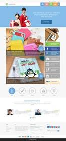 Nro 10 kilpailuun Design a Homepage Mockup käyttäjältä ankisethiya