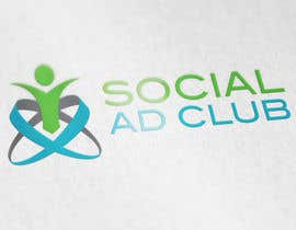 #66 para Design a Logo for social ad club por IllusionG