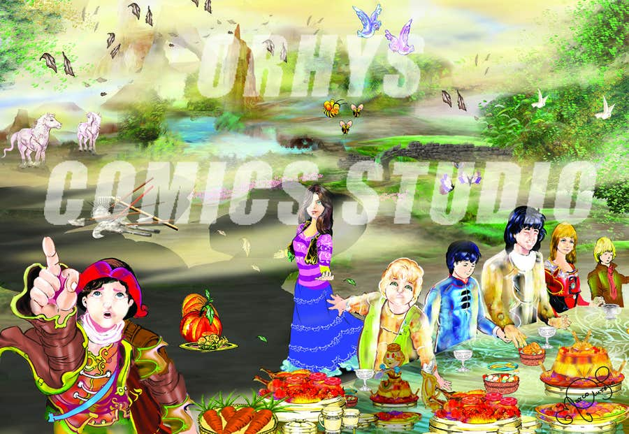 Contest Entry #11 for Illustration for promoting a theatreplay for children (4-10 years old)