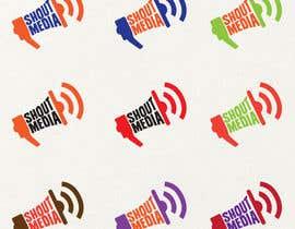 Nro 60 kilpailuun Design a Logo for ShoutMedia käyttäjältä SzalaiMike