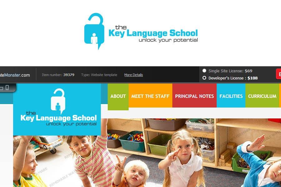 Kilpailutyö #                                        23                                      kilpailussa                                         Design a Logo for The Key Language School