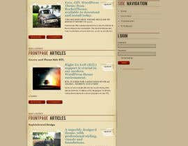 #7 para Create a Custom, classy and antique looking Wordpress Template por deepakinventor