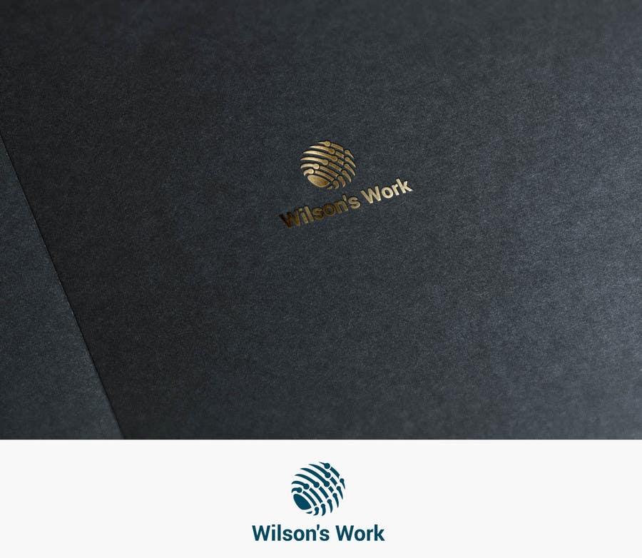 """Penyertaan Peraduan #5 untuk Design a logo for """"WILSON's WORK"""""""