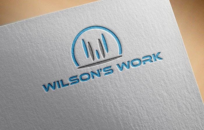 """Penyertaan Peraduan #64 untuk Design a logo for """"WILSON's WORK"""""""
