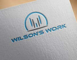 "#64 para Design a logo for ""WILSON's WORK"" por hubbak"