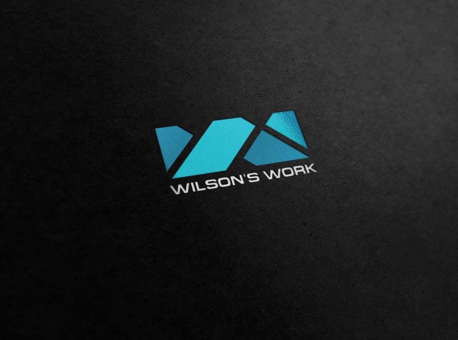 """Penyertaan Peraduan #108 untuk Design a logo for """"WILSON's WORK"""""""