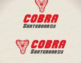 #7 cho Design a Logo for Cobra Skateboards bởi codigoccafe