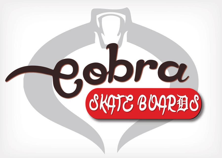 Konkurrenceindlæg #17 for Design a Logo for Cobra Skateboards