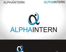 #15 untuk Design a Logo for AlphaIntern oleh iaru1987