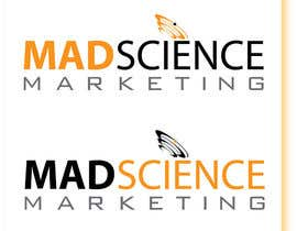 #675 dla Logo Design for Mad Science Marketing przez saledj2010