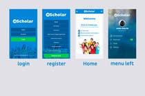 Graphic Design Konkurrenceindlæg #5 for Design an App Mockup for Information Listing search app