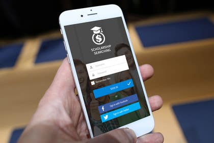 ankisethiya tarafından Design an App Mockup for Information Listing search app için no 11