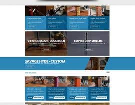 #3 for redesign of homepage and category page for magento site af doubledude