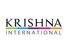 #73 para Design a Logo for Krishna International por adryaa