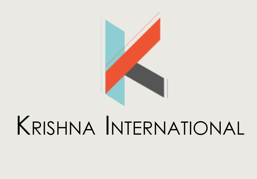 Konkurrenceindlæg #63 for Design a Logo for Krishna International