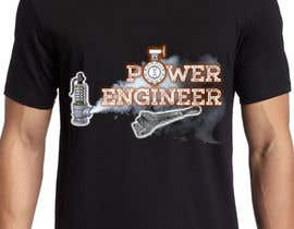 #32 untuk Design a T-Shirt for Power Engineer Professional oleh hyroglifbeats