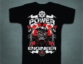#21 untuk Design a T-Shirt for Power Engineer Professional oleh mj956