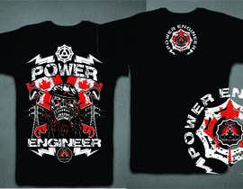 #31 untuk Design a T-Shirt for Power Engineer Professional oleh mj956
