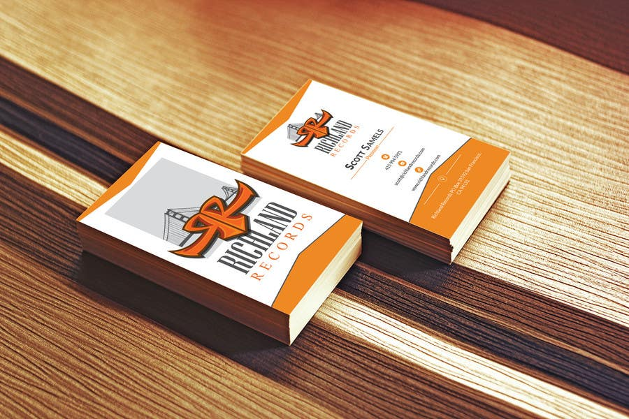 Proposition n°33 du concours Brand-new business cards!