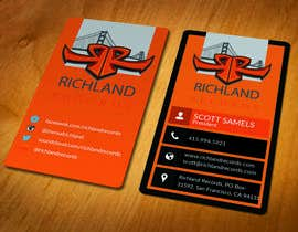 #91 for Brand-new business cards! by akhi1sl