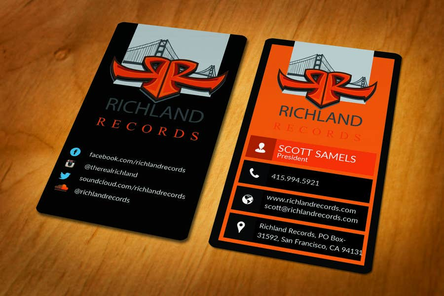 Proposition n°92 du concours Brand-new business cards!