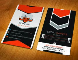 #93 for Brand-new business cards! by akhi1sl