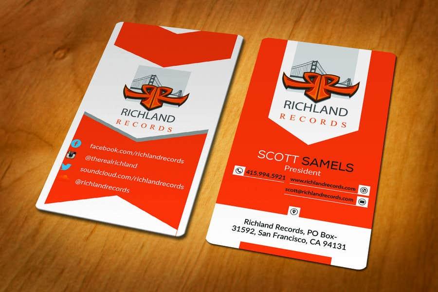 Kilpailutyö #96 kilpailussa Brand-new business cards!