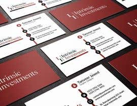 #4 untuk Design some Business Cards for Intrinsic Investments oleh TanoJawed