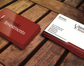 #24 untuk Design some Business Cards for Intrinsic Investments oleh ezesol